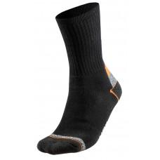 Darbinės kojinės, su briaunuotomis elastinėmis juostomis, dydis 39–42