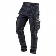 5 pockets working trousers DENIM