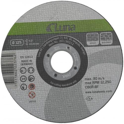 Akmens pjovimo diskai