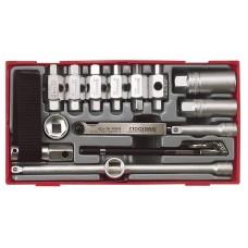 Tepalo keitimo įrankių rinkinys 16 dalių Teng Tools TTOS16