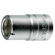 Galvutė 10 mm antgaliams fiksuoti su 1/2 keturkampiu fiksatoriumi Teng Tools M120061-C