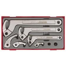 Kablinių raktų rinkinys 8 dalių  Teng Tools TTHP08
