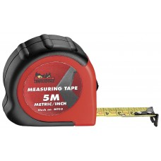 Plieninė ruletė Teng Tools 5 m mm/coliai