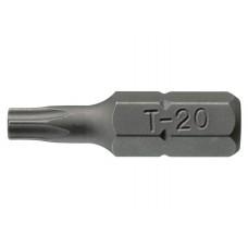 Torx tipo griovelių antgaliai TPX25 Teng Tools (3VNT)