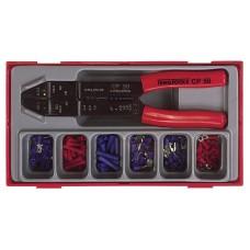 121 dalių Laidų antgalių rinkinys Teng Tools TTCP121