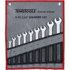 Kombinuotų  Ypač ilgų veržliaraktčių rinkinys 8-19 mm Teng Tools 6059LMP