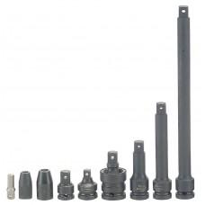Ilginamasis smūginis strypas galvoms 3/8 Tengtools 75 mm