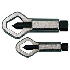 Veržlių trumpituvų rinkinys 2 VNT Teng Tools NS02