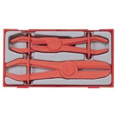 Žarnelių užspaudimo replių rinkinys 3 dalių Teng Tools TTHC03