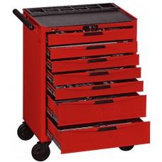 Įrankių vežimėlis 491 dalių Teng Tools TCMM491N