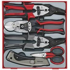 Kirpimo ir pjovimo įrankių  rinkinys 5 dalių Teng Tools TTDCT05