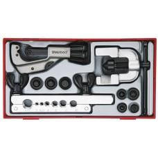 10  dalių Darbo su vamzdžiais,/atlenkimo įrankių rinkinys Teng Tools TTTF10