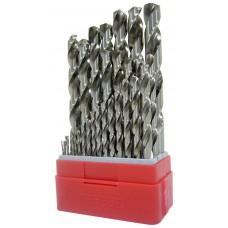 Grąžtų rinkinys 1-10 mm Teng Tools DB028