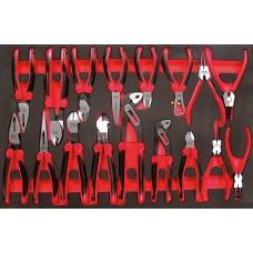 17 dalių Replių rinkinys Teng Tools TTEMB17