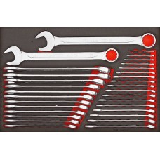 31 dalių U formos žiedinių raktų rinkinys Teng Tools TTESP31