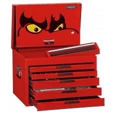 Įrankių vežimėlio viršutinė dėžė su įrankiais 280 dalių Teng Tools TCMME09B