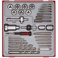 Sriegimo įrankių rinkinys 34 dalių Teng Tools TTDTD34