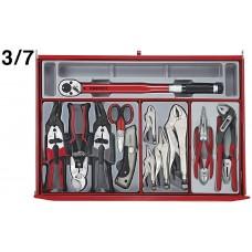 Įrankių vežimėlis 277 dalių Teng Tools TCMM277SV