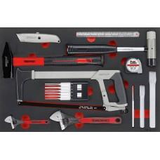 12 dalių Remonto įrankių rinkinys Teng Tools TTEPS12