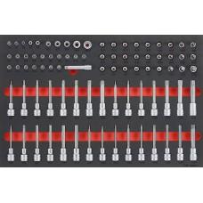 85 dalių Antgalių ir galvučių rinkinys Teng Tools TTESK85