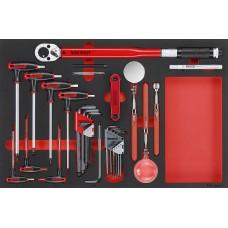 17 dalių Įrankių rinkinys Teng Tools TTEX17