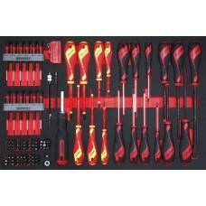 98 dalių Atsuktuvų/antgalių rinkinys Teng Tools TTEMB98N
