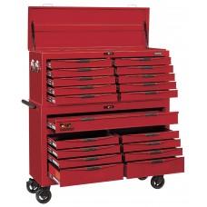 2 dalių vežimėlis su įrankiais  Teng Tools TCMONSTER02 (1185 dalių)