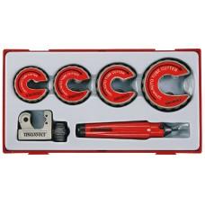 Vamzdžių pjovimo rinkinys 6 dalių Teng Tools TTTC06