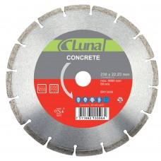 Segmentuotas pjovimo diskas betonui luna  115X7X2,0X22