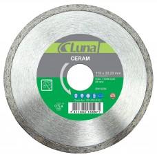 Deimantinis pjovimo diskas keramikai Luna 115X5X1,8X22