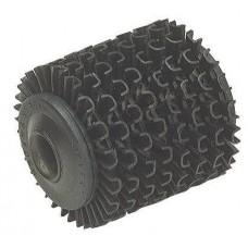 Spare roller for wheel dresser