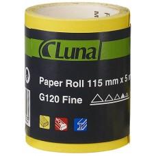 Šlifavimo popieriaus ritinys Luna 95mm X 5m