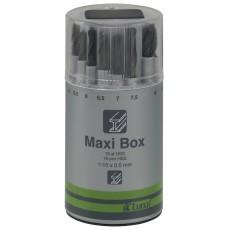 Spiralinių grąžtų HSS rinkinys Luna Maxi-Box