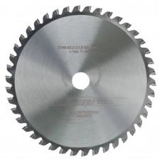 Plieninis pjovimo diskas Luna 165X15,87 Z48