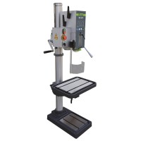 COLUMN DRILL MACH MD31F 400-3 - Bench drilling machine mounted on a sturdy steel column.