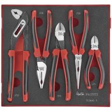 5 dalių replių rinkinys. Teng Tools TED441-T