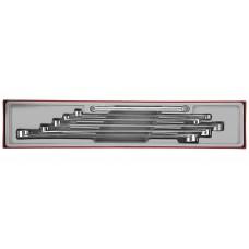 11 dalių žiedinių raktų rinkinys Teng Tools TTXFL06