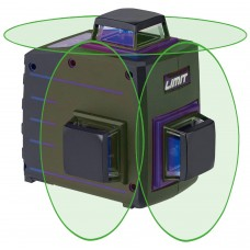 Žalias multi kryžminis lazeris Limit 1080-G