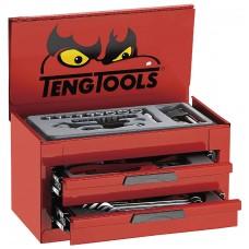 Įrankių vežimėlio viršutinė dėžė su įrankiais MINI 35 dalių Teng Tools TM035NF