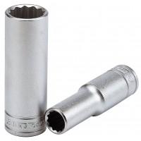 Ilga dvylikakampė galvutė Teng Tools Su 1/2  keturkampiu fiksatoriumi. 36 mm - Teng Tools Ilgos - 79 mm.Galvutė HEX  Su 1/2  keturkampiu fiksatoriumi. Teng Tools  5 mm - Teng Tools Trumpi antgaliai vidinėms šešiakampėms angoms.