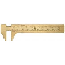 Mini slankmatis 100 mm. Iš žalvario Limit