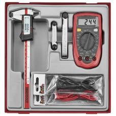 4 dalių matavimo įrankių rinkinys Teng Tools TTDAM