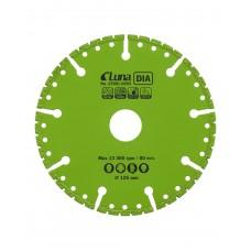 Pjovimo diskas universalus  DIA Luna 125mm