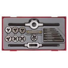 Sriegimo įrankių rinkinys 17 dalių Teng Tools TTTD17