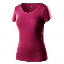 Moteriški marškinėliai bordo spalvos