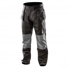 Darbo kelnės, su nuimamomis kišenėmis ir klešnėmis