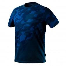 Marškinėliai CAMO Navy raštu