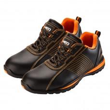 Darbiniai batai Odiniai S1, plienu apsaugotas priekis