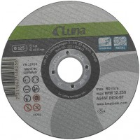 Pjovimo diskas Luna geležiai ir plienui Heavy duty 125X1,0X22,23